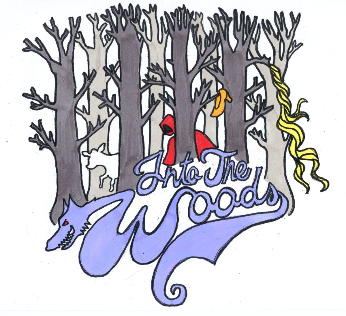 Into the Woods Logo - CHS